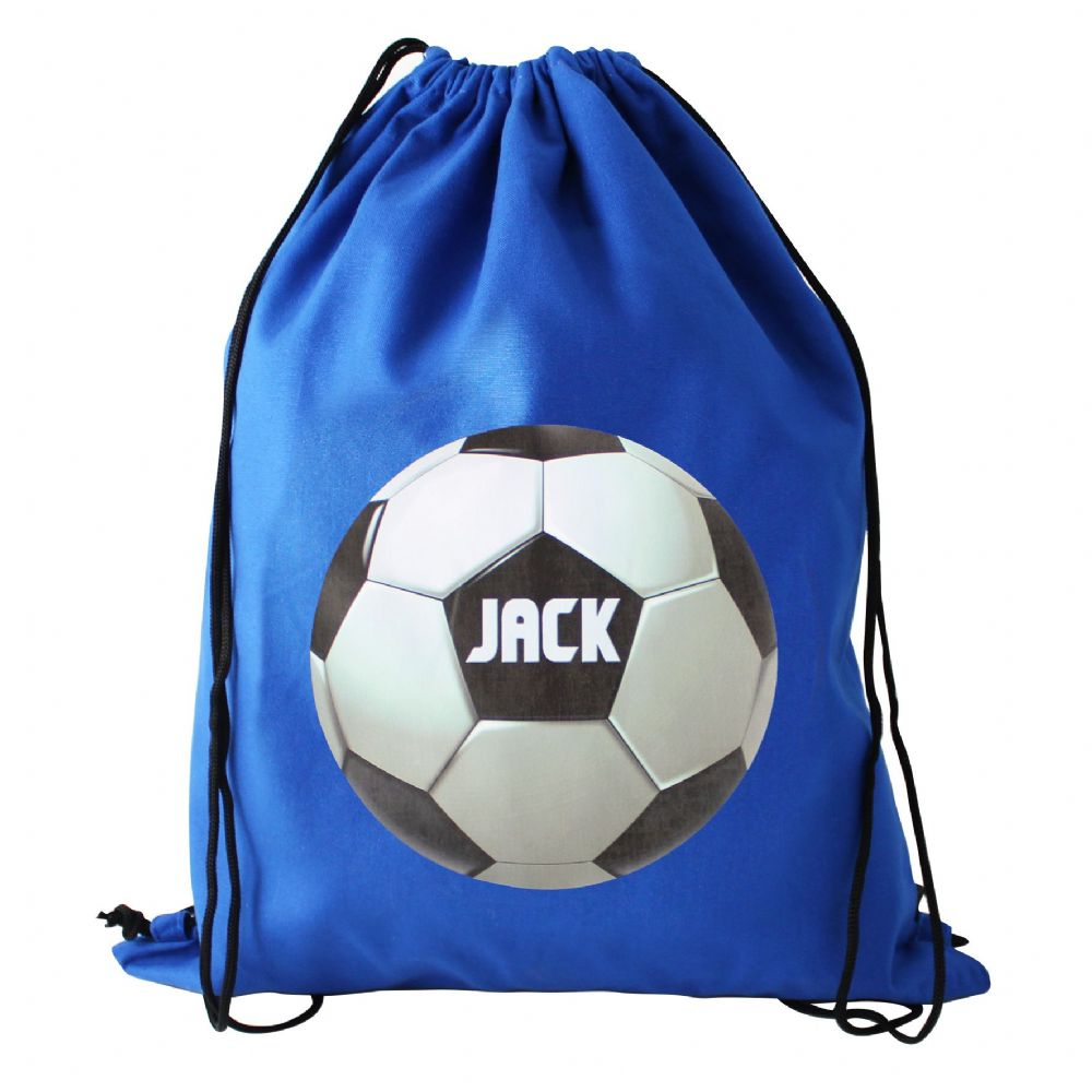 Personalised Football Swim & Kit Bag - Ideal gift for Back to School, Gym Bags, Kit Bags, Swim Bags